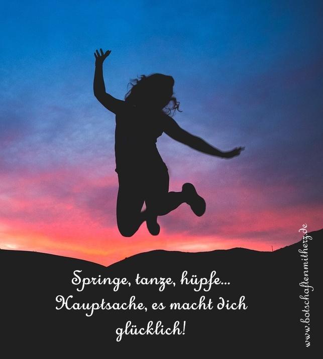 Springen, tanzen, huepfen, Schneckenhaus