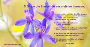 5 dinge die sterbende am meisten bereuen
