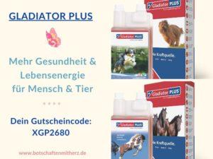 Gladiator Plus fuer Mensch und Tier